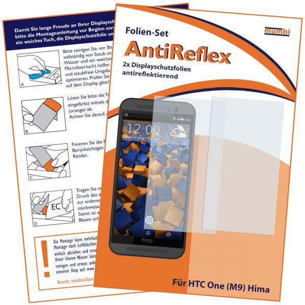 Displayschutzfolie 2 Stck. AntiReflex für HTC One M9