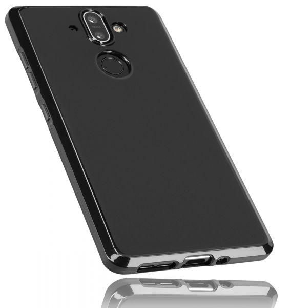 TPU Hülle schwarz für Nokia 8 Sirocco