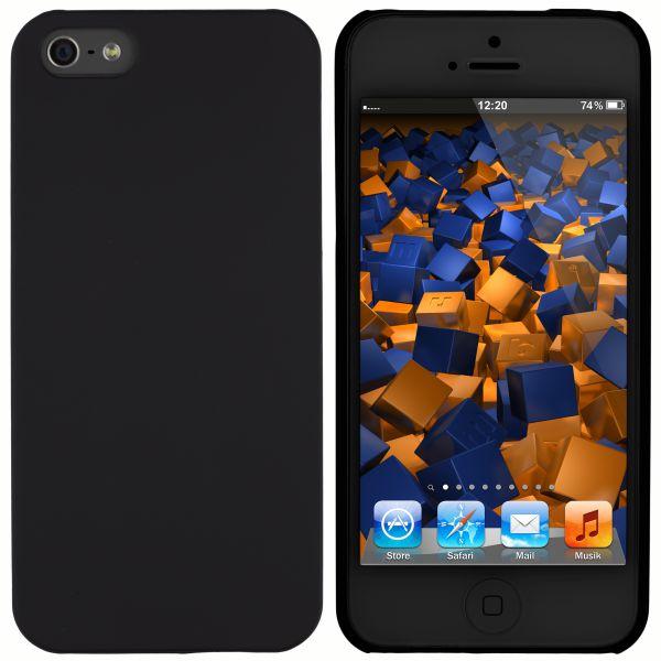 Hard Case Hülle schwarz für Apple iPhone SE / 5 / 5s