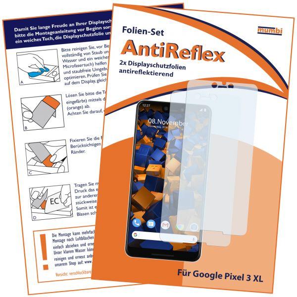 Displayschutzfolie 2 Stck. AntiReflex für Google Pixel 3 XL