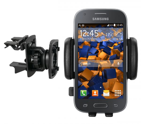 Lüftungsschlitz KFZ Halterung Vent Mount Kugelgelenk für Samsung Galaxy Ace Style