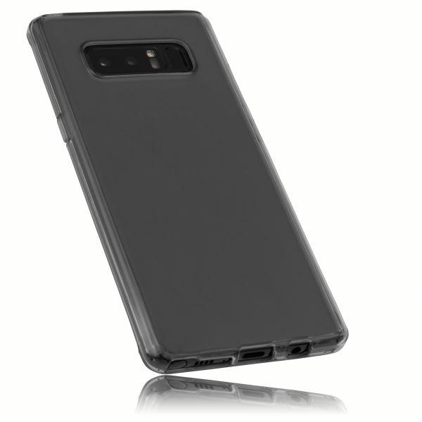 TPU Hülle schwarz transparent für Samsung Galaxy Note8