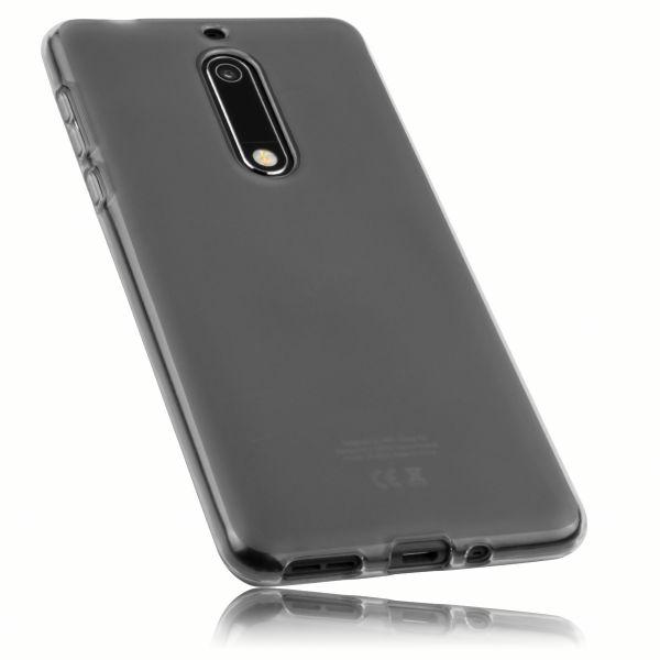 TPU Hülle schwarz transparent für Nokia 5