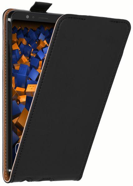 Flip Case Tasche schwarz für Huawei Honor View 10