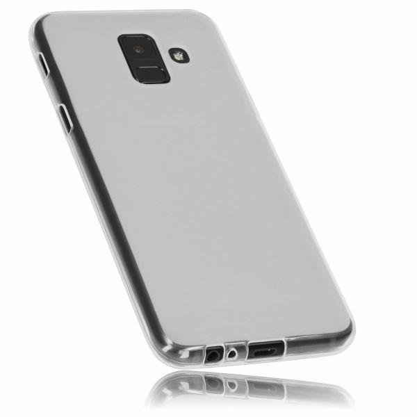 TPU Hülle weiß transparent für Samsung Galaxy A6