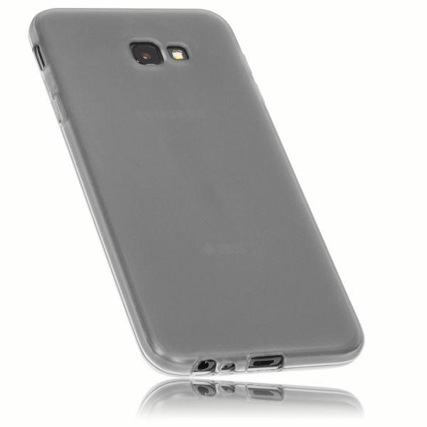 TPU Hülle schwarz transparent für Samsung Galaxy J4 Plus