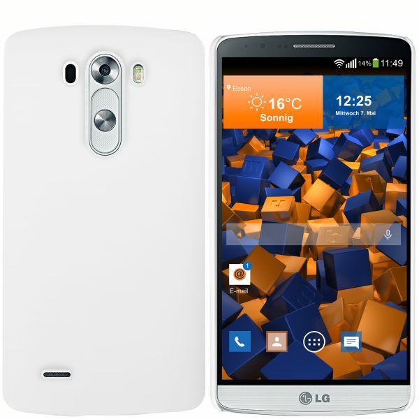 Hard Case Hülle weiß für LG G3