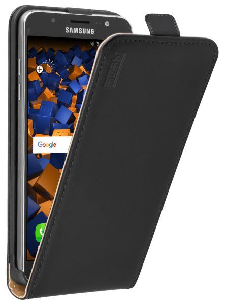 Flip Case Tasche schwarz für Samsung Galaxy J7 (2016)