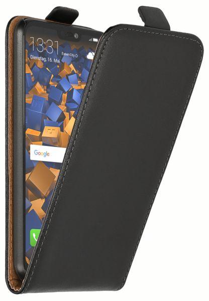 Flip Case Tasche schwarz für Huawei P20 Lite