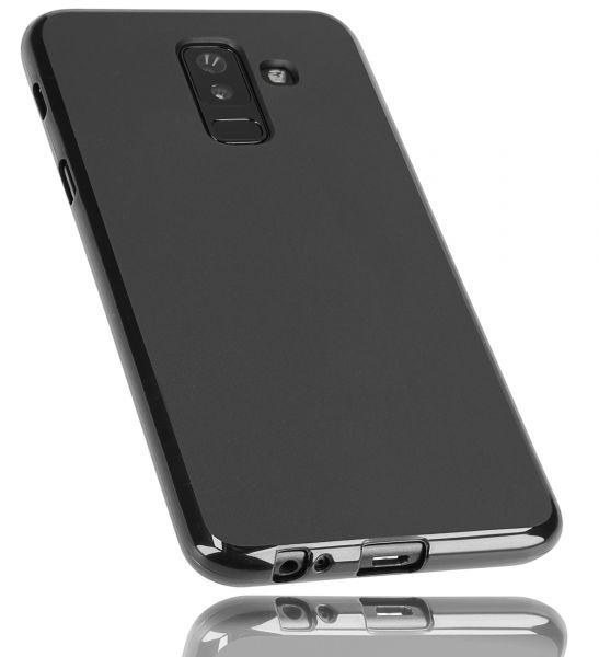 TPU Hülle schwarz für Samsung Galaxy A6 Plus