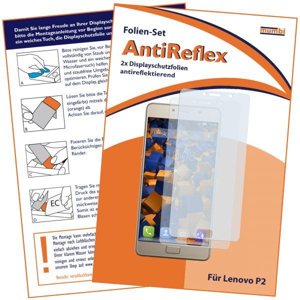 Displayschutzfolie 2 Stck. AntiReflex für Lenovo P2