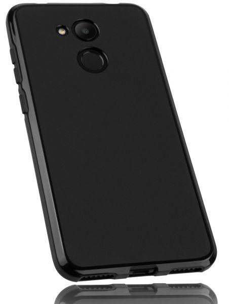 TPU Hülle schwarz für Huawei Honor 6C Pro