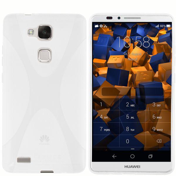 TPU Hülle X-Design transparent weiß für Huawei Ascend Mate 7