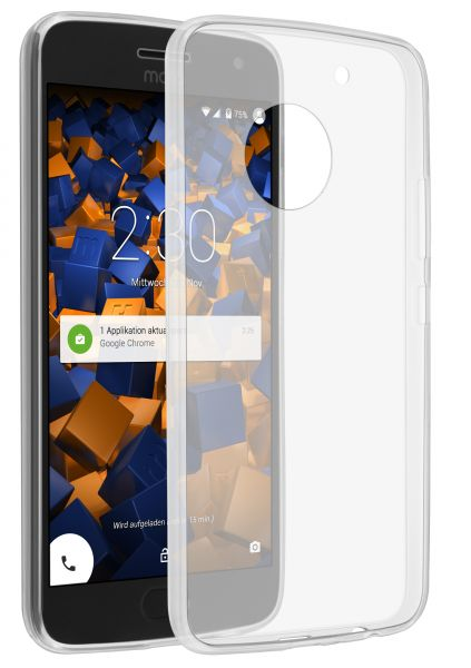 TPU Hülle Ultra Slim transparent für Motorola Moto G5 Plus