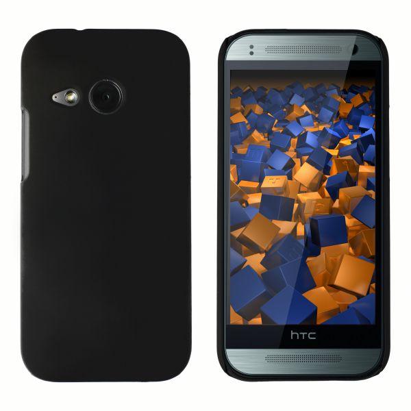 Hard Case Hülle schwarz für HTC One Mini 2