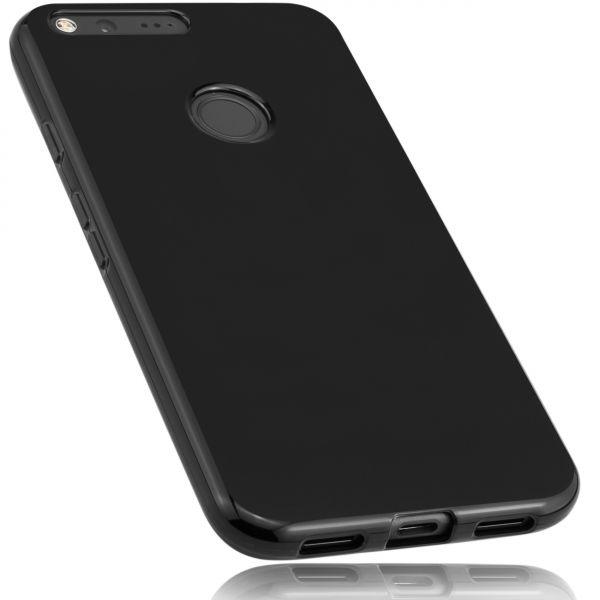 TPU Hülle schwarz für Google Pixel XL