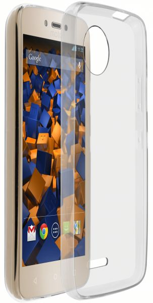 TPU Hülle Ultra Slim transparent für Lenovo Moto C Plus