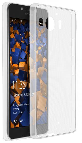 TPU Hülle Ultra Slim transparent für Microsoft Lumia 950