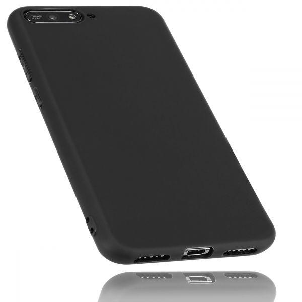 TPU Hülle schwarz für Huawei Y6 (2018)