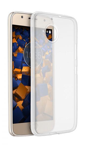 TPU Hülle Ultra Slim transparent für Motorola Moto G5S Plus
