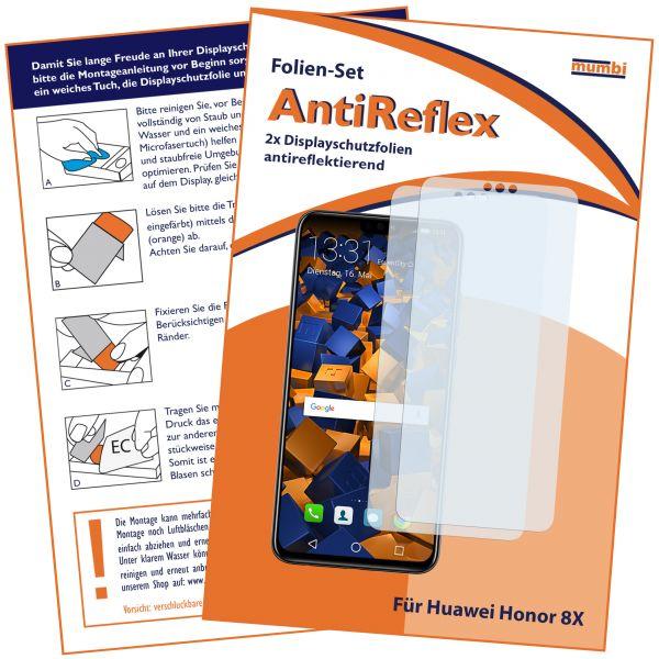 Displayschutzfolie 2 Stck. AntiReflex für Huawei Honor 8X