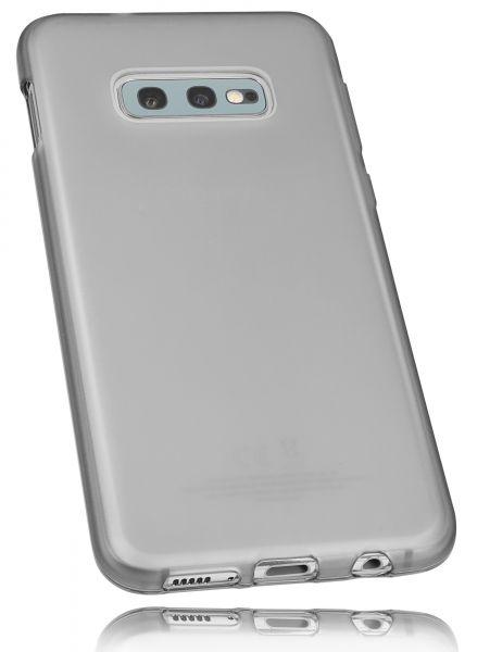 TPU Hülle schwarz transparent für Samsung Galaxy S10e