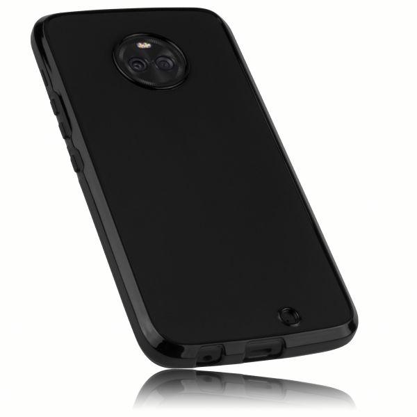 TPU Hülle schwarz für Motorola Moto X4