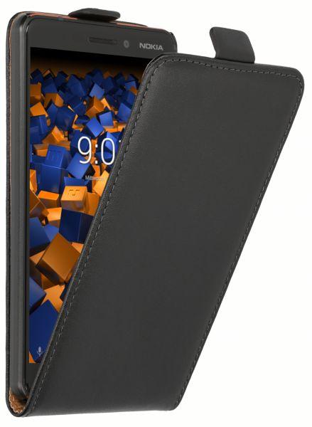 Flip Case Tasche schwarz für Nokia 6 (2018)