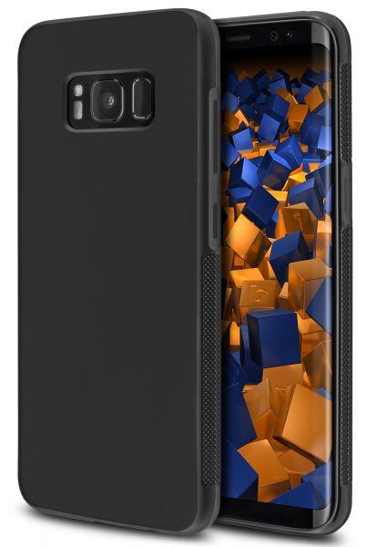 TPU Hülle double GRIP schwarz für Samsung Galaxy S8