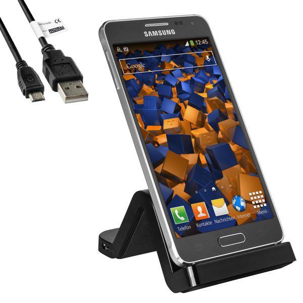 Dockingstation + USB Datenkabel für Samsung Galaxy Alpha