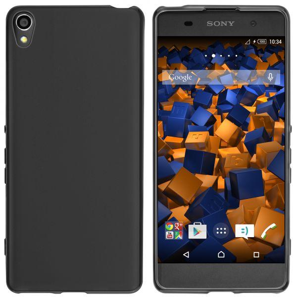TPU Hülle schwarz für Sony Xperia XA
