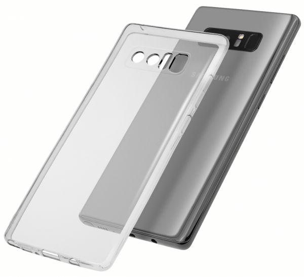 TPU Hülle Ultra Slim UV beständig transparent für Samsung Galaxy Note8