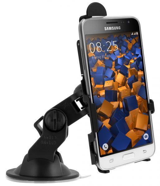 KFZ Saugnapfhalterung schwarz für Samsung Galaxy J3 (2016)