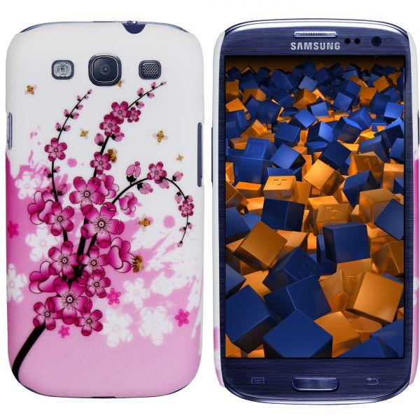 Hard Case Hülle rosa Kirschblüten für Samsung Galaxy S3 / S3 Neo