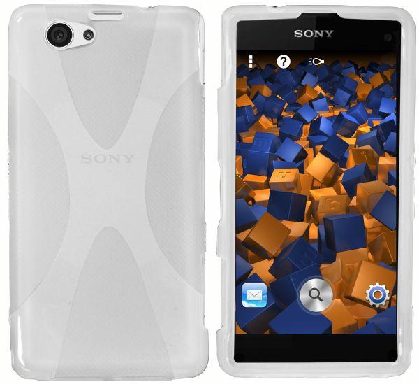 TPU Hülle X-Design weiß transparent für Sony Xperia Z1 Compact
