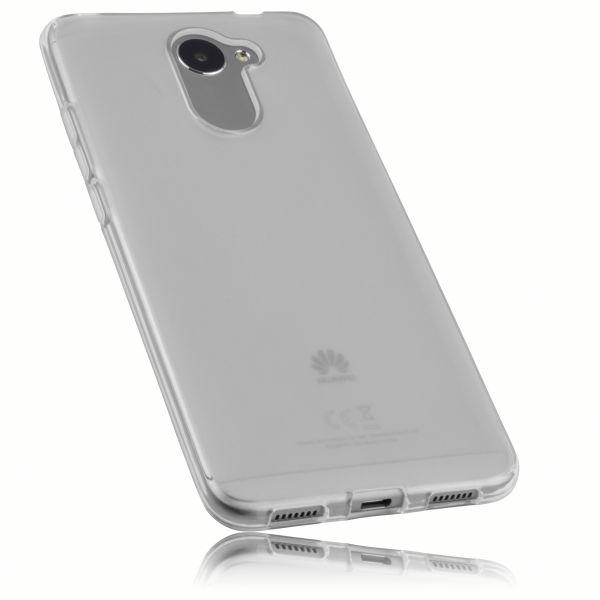 TPU Hülle weiß transparent für Huawei Y7