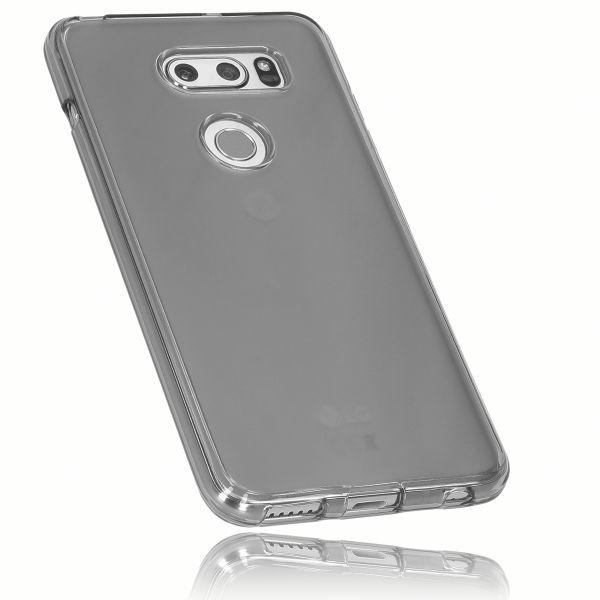 TPU Hülle schwarz transparent für LG V30 / V30S ThinQ