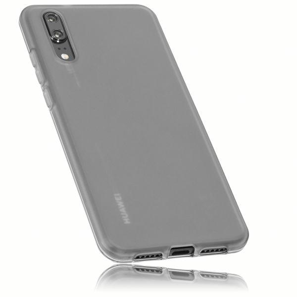 TPU Hülle schwarz transparent für Huawei P20