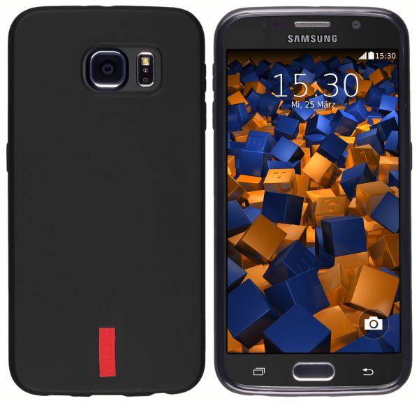 TPU Hülle schwarz für Samsung Galaxy S6 / S6 Duos