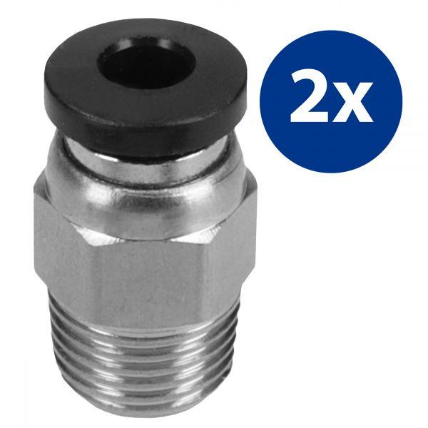3D Druck 2er Set Steckverbinder für 3D-Drucker PC4-M10
