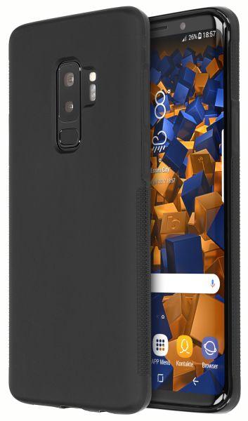TPU Hülle double GRIP schwarz für Samsung Galaxy S9 Plus