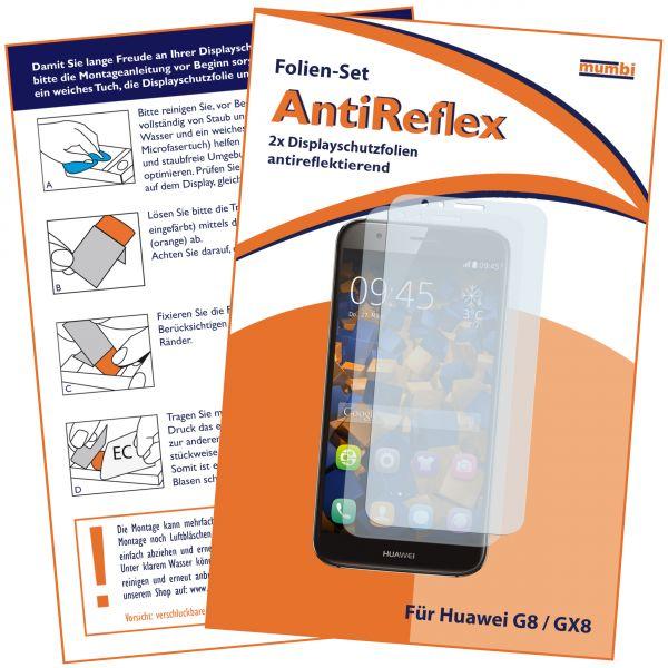 Displayschutzfolie 2 Stck. AntiReflex für Huawei G8 / GX8