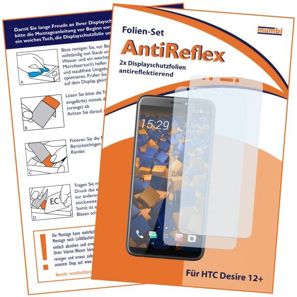 Displayschutzfolie 2 Stck. AntiReflex für HTC Desire 12 Plus