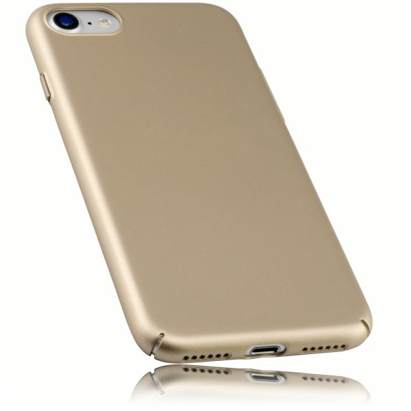 Hard Case Slim goldfarben für Apple iPhone 8 / 7 / SE 2 (2020)