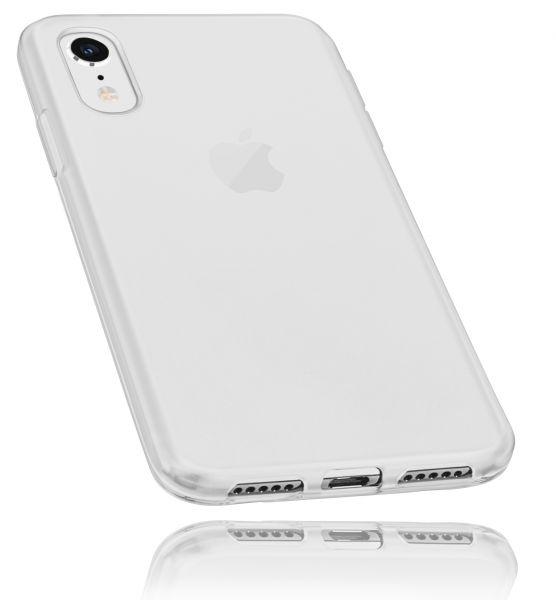 TPU Hülle weiß transparent für Apple iPhone XR
