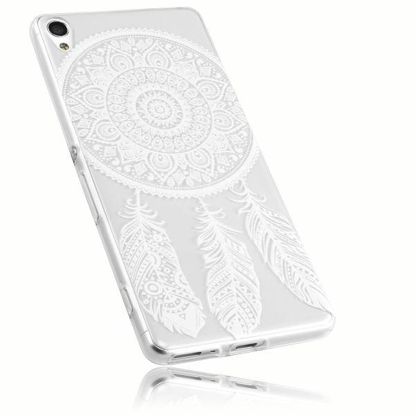 TPU Hülle Ultra Slim transparent Motiv Traumfänger für Sony Xperia XA