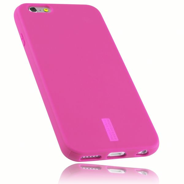 TPU Hülle rosa mit Logo für Apple iPhone 6 / 6s