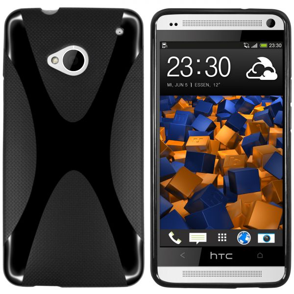TPU Hülle X-Design schwarz für HTC One