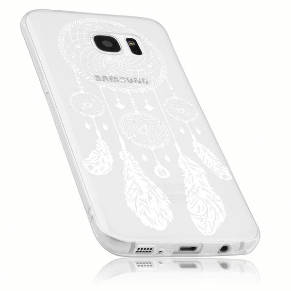 TPU Hülle transparent Motiv Traumfänger für Samsung Galaxy S7 Edge