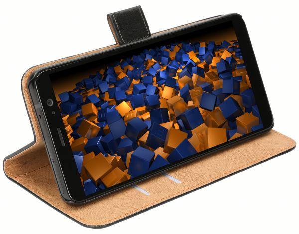 Bookstyle Tasche schwarz für HTC U11 Plus